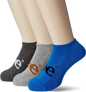 [Lee] 彩色商标运动鞋用袜子・3双套装/男士 AC8051A304