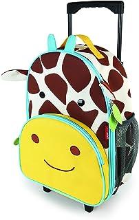 美国Skip Hop可爱动物园小孩专用行李箱书包-长颈鹿SH212311
