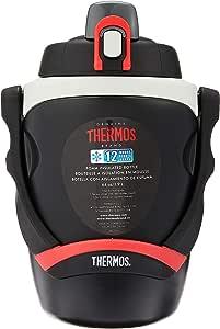 Thermos 泡沫隔热水壶 黑色 64 oz FPG1901BK4