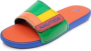 Nautica 男士 Bower Athletic Slide,可调节肩带舒适凉鞋