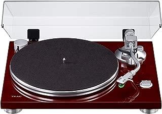 Teac TN-3B 唱机,带皮带驱动(MM-Phono-EQ放大器,数字USB输出,SAEC 音响臂,33 & 45 RPM 速度)TN-3B-A/CH
