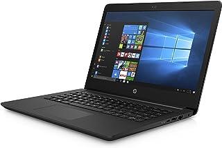 HP惠普 14-bp012nd (14 英寸) 笔记本电脑 (英特尔奔腾 N3710 四核, 4GB 内存, 英特尔高清显卡 405, Win 10 家庭, QWERTY (NL 键盘)) 深黑色