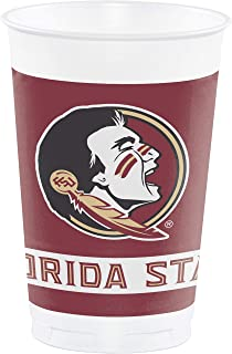 Creative Converting Florida State University 20 oz. Plastic Cups, 8-Count