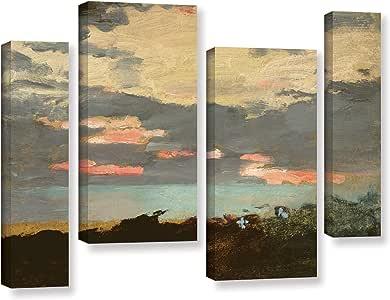 ArtWall Winslow Homer 日落 36X54 1hom002i3654w