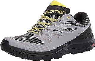 Salomon 萨洛蒙 男式徒步鞋 Alloy/Black/Evening Primrose 7
