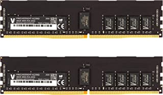 v-Color 32GB (2 x 16GB) 服务器内存模块适用于 Apple Mac Pro 2019 * DDR4 2933MHz (PC3-23400) ECC 注册 DIMM 双列1.2V CL21 2Rx8 (VHA21ASDR8G...