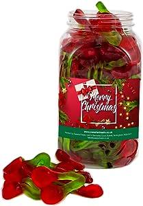 Mr Tubbys Twin Cherries - Merry Christmas Red Label - Medium Jar 750g(Pack of 1)