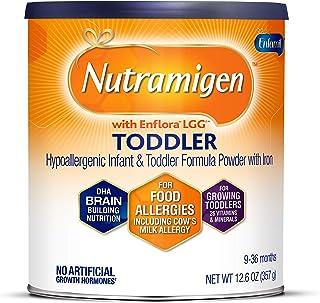 Enfamil 美赞臣铂睿 Nutramigen Colic 低敏无乳糖婴幼儿配方奶粉,12.6 盎司(357g)-含Omega 3 Dha,Lgg,铁