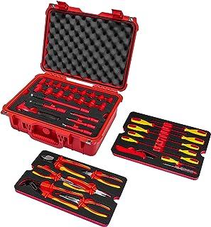 Powerbuilt 50 件 1000V 绝缘电工 VDE 工具套装带盒 - 240259