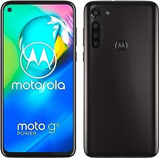 moto g8 power Dual-SIM Smartphone (6,4-Zoll-Max Vision-FHD+-Display, 16-MP-Hauptkamera, 64 GB/4 GB, Android 10) Schwarz in...