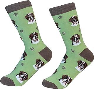 E&S Pets Saint Bernard 狗狗品种袜中性袜子