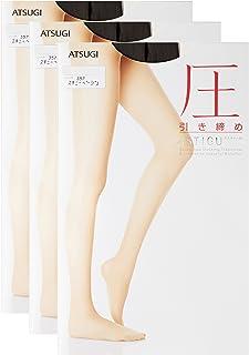 ATSUGI 厚木 ASTIGU 【压】 着压紧致连裤丝袜 3双套装 ASTIGU 女士