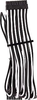 CORSAIR 高级独立套式 ATX 24 针电缆类型 4 Gen 4 - 白色/黑色适用于 Corsair PSU