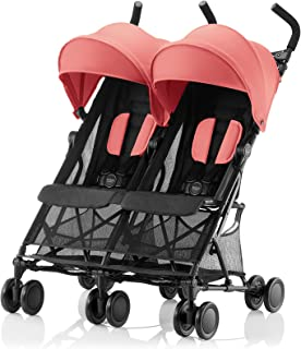 Britax Römer HOLIDAY DOUBLE Pushchair (6 months - 15 kg|3 years) -Coral Peach