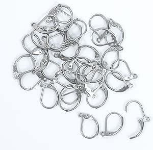 全套 100 件批发不锈钢耳环钩 DIY 珠宝制作 French Earring Hook unknown