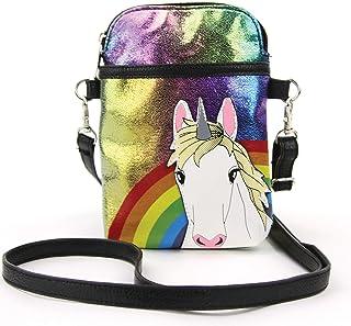 彩虹斜挎包的独角兽,乙烯树脂