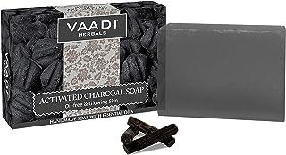 活性炭肥皂 75 克(6 X 75 克) - Vaadi 草本香料