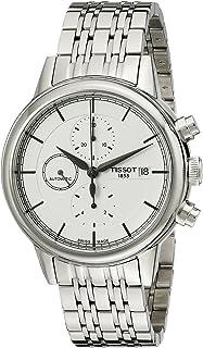 Tissot T0854271101100 Carson 模拟显示瑞士自动银色手表
