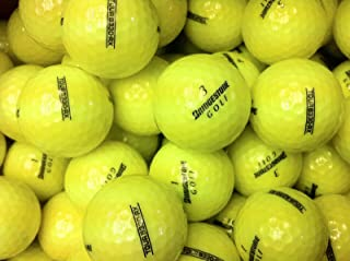 Bridgestone Tour B330 RX 黄色 AAAAA 二手高尔夫球