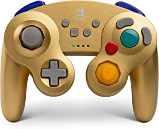 任天堂切换有线控制器 Wireless Gamecube Nintendo Switch Controller 金色
