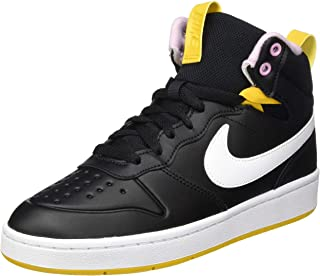Nike 耐克 中性儿童 Court Borough Mid 2 靴子 (Ps) 运动鞋