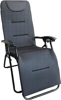 海浪 3D 网眼具有躺卧功能高靠背野营椅