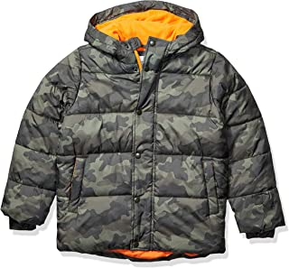 Amazon Essentials 男童加厚连帽棉衣