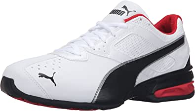 PUMA 彪马 男士 Tazon 6 FM 运动鞋 Puma 白色/Puma 黑色/Puma 银色 7