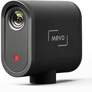 Mevo Start 现场活动摄像头,全高清1080p 无线流媒体,带三个 MEMS 麦克风阵列