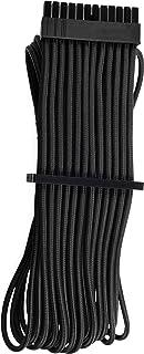 CORSAIR 高级独立套式 ATX 24 针电缆类型 4 Gen 4 - 黑色适用于 Corsair PSU