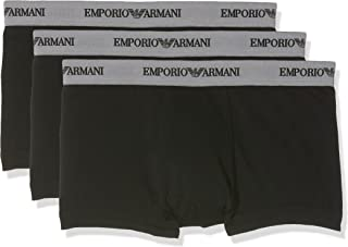 Emporio Armani Men's Cc717-111357 Boy Short, pack of 3