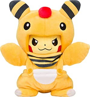 Pokemon 精灵宝可梦 Pokemon Center Original 布制玩偶 身披电龙外套的皮卡丘