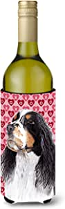 Springer Spaniel Hearts Love Valentine's Day Michelob Ultra Koozies for slim cans SC9277MUK 多色 750 ml