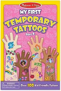 Melissa & Doug 纹身贴,100多种儿童友好纹身贴,彩虹、仙子、花朵等