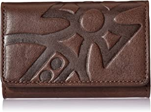 Vivienne Westwood MAN GIANT ORB 女式 时尚钥匙包 51020003-40176 棕色 10*1*7cm (亚马逊进口直采, 英国品牌)