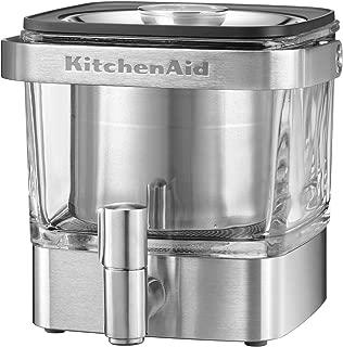 KitchenAid 冷釀咖啡機,拉絲不銹鋼 拉絲不銹鋼 28 Ounce 609115-KCM4212SX