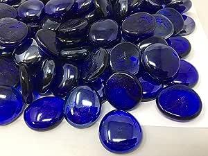 花瓶装饰和工艺用玻璃宝石 Large Cobalt 2.2 lbs