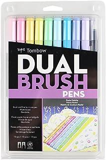 TOMBOW 双梳笔美术彩笔