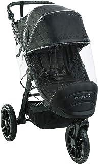 Baby Jogger Weather 单人推车防雨罩 | 适用于 City Elite 2、City Mini 2(3 轮)和 City Mini GT2 单人推车 | 挡雨、雪和风