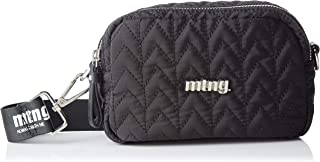 MTNG BENGALA 女式邮差包,黑色(尼龙氯丁橡胶),8x13x19 厘米(宽 x 高 x 长)
