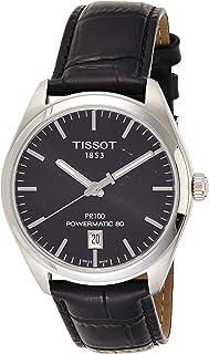 Tissot PR 100 自动黑色表盘男式手表 T101.407.16.051.00