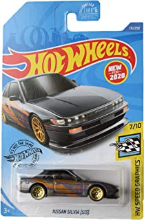 Hot Wheels 速度图形 7/10 日产 Silvia [S13] 111/250,灰色