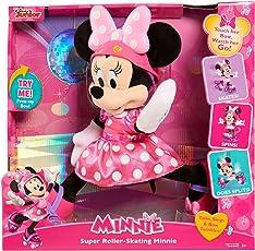 Minnie Super Roller Skating Minnie Plush-Pink