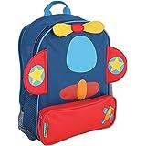 Stephen Joseph Boy's Sidekick Backpack, Airplane, One Size