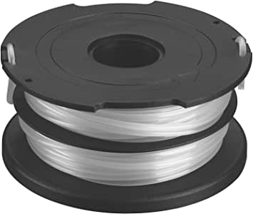 """Black and Decker DF-065 .065"""" Factory Wound Dual Line AFS Replacement Spool, 无 S"""