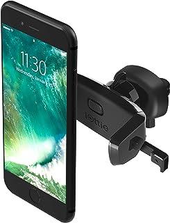 iOttie輕松一鍵式迷你車載通風口手機支架,適用于iPhone 7/7 Plus/6s Plus/6s/6,三星Galaxy S8 Edge/S7/S6,Note 5,Nexus 6及其它智能手機