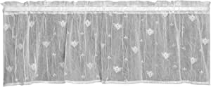Heritage Lace Bee Sidelight Panel 白色 45 by 15-Inch 7165W-4515