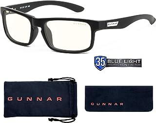 Gunnar Optiks Enigma 電腦眼鏡帶液體鏡片 - 阻擋藍光、防眩光、*大程度減少數字眼部應變,瑪瑙 (ENI-00109)