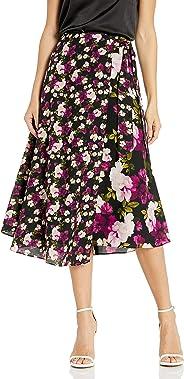 Calvin Klein 女士人造裹身裙