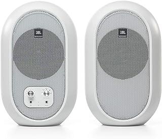 JBL 1 系列 104 紧凑型桌面参考显示器蓝牙版本 - 白色(成对出售)